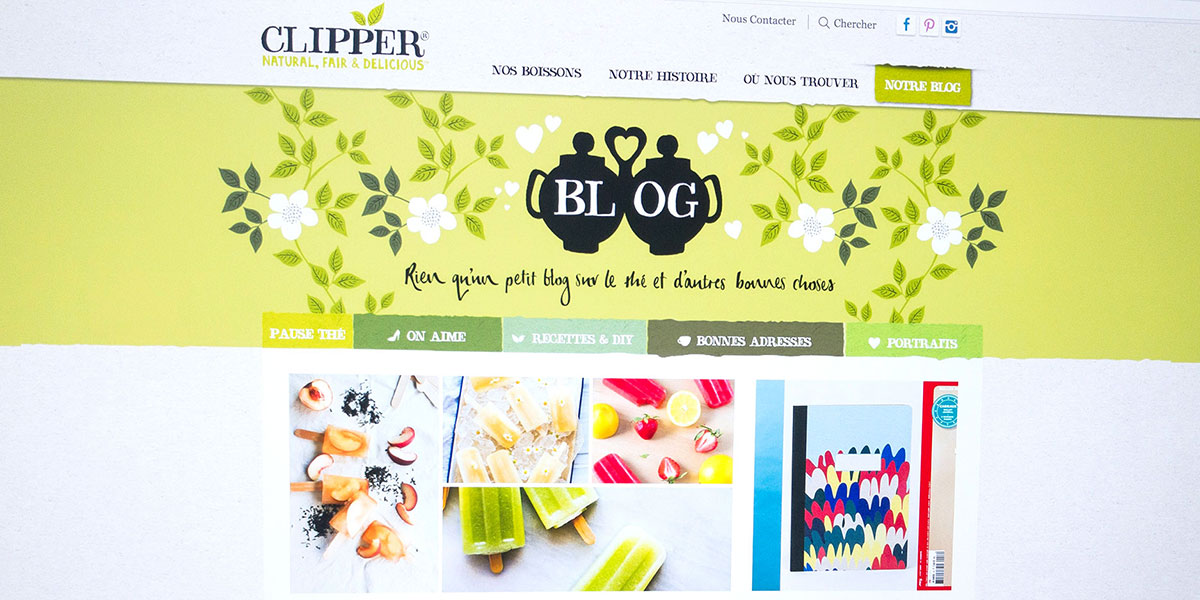 Case study | Clipper | Develop brand awareness for the French market.